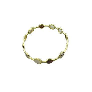 thumbnail image of New Ippolita 18K Gold Rock Candy Open Gelato Creme Brulee Bracelet