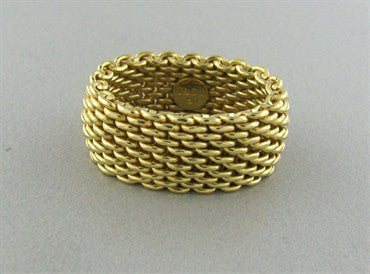 image of Tiffany & Co 18K Yellow Gold Somerset Ring
