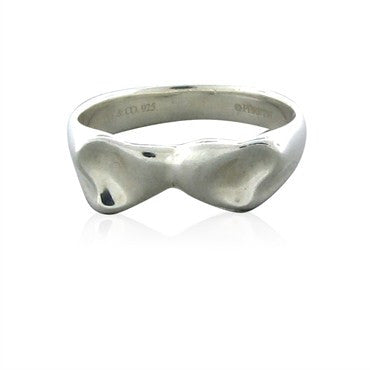 thumbnail image of Tiffany & Co Elsa Peretti Full Heart Sterling Silver Ring
