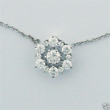 image of Hearts on Fire 18k Gold 1.15ct Diamond Necklace