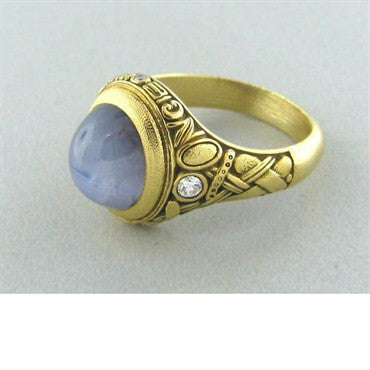 Alex Sepkus Once Upon A Time Star Sapphire Diamond Ring