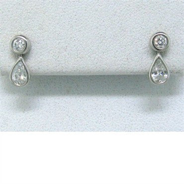 image of Tiffany & Co Elsa Peretti Diamonds By The Yard Earrings