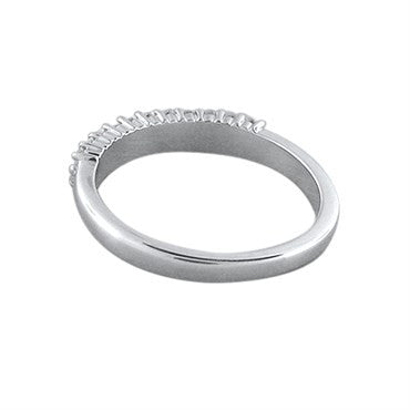 image of Hearts On Fire Truly Bridal Double Row Diamond Wedding Band Ring