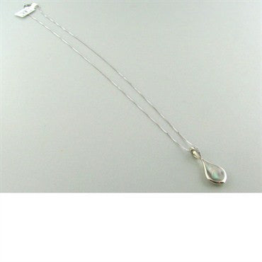 image of New Kabana Gold Mother Of Pearl Diamond Necklace