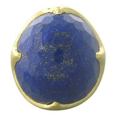 thumbnail image of New Ippolita 18K Gold Lapis Matrix King Large Ring