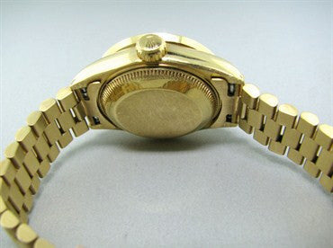 thumbnail image of Rolex President 18K Gold Diamond Ladies Watch 69178