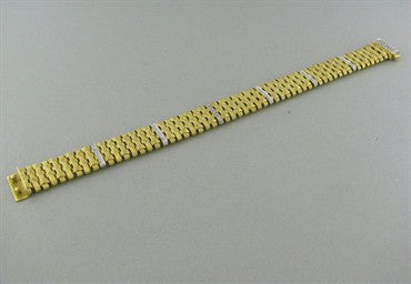 thumbnail image of Roberto Coin Appassionata 18K Gold Diamond Bracelet