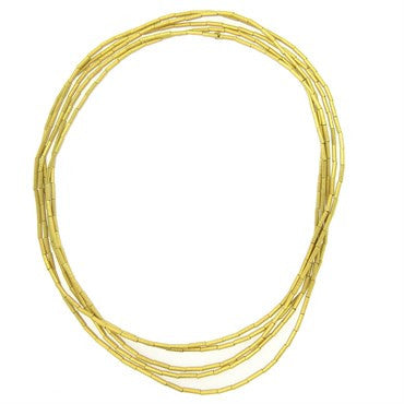 thumbnail image of H Stern Fluid Gold Collection Necklace 10 Feet