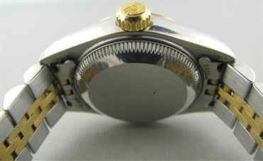 image of Rolex Datejust Stainless 18K Diamond Ladies Watch 79173