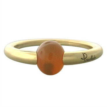 image of Pomellato M'ama Non M'ama 18K Gold Fire Opal Ring