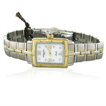 image of Raymond Weil Womens Parsifal Diamond MOP Dial Watch 9740 STG00995