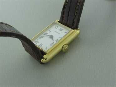 thumbnail image of Classic Jaeger Lecoultre 18K Gold Ladies Watch