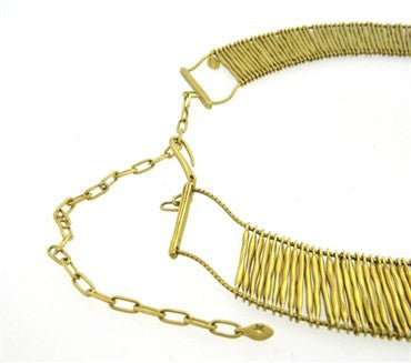 image of Impressive H. Stern Filaments 18k Gold Necklace