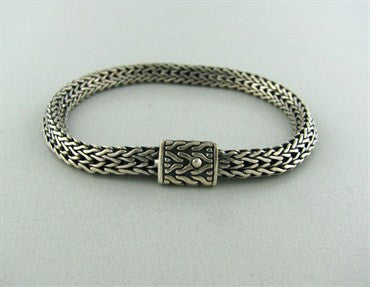 image of Estate John Hardy Sterling Silver Bracelet