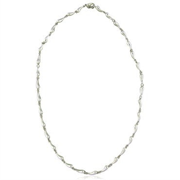 thumbnail image of Tiffany & Co. Elsa Peretti Sterling Silver Necklace