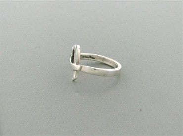 thumbnail image of Estate Tiffany & Co Paloma Picasso Sterling Silver Loving Heart Ring