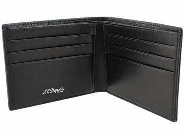 thumbnail image of ST Dupont Black Leather Contraste Wallet 074107