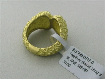 image of Slane & Slane 18K Yellow Gold Ring