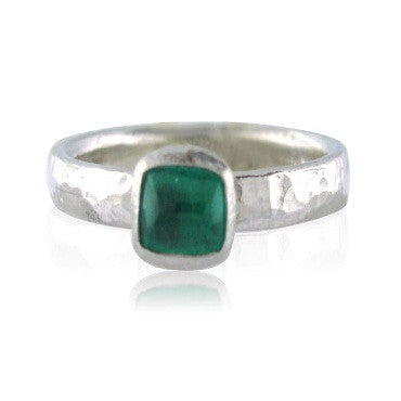 image of New Gurhan Platinum 0.46ct Emerald Ring