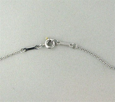 image of Tiffany & Co. Elsa Peretti Diamonds By The Yard Platinum Necklace
