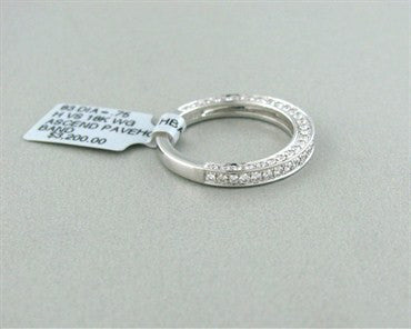 thumbnail image of New Hearts On Fire Ascend Pave Diamond Wedding Band Ring