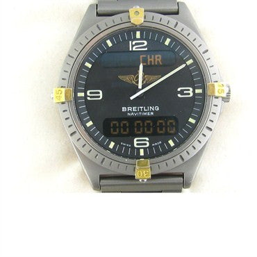 Breitling Professional Aerospace Titanium Watch F56059