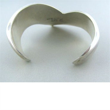 thumbnail image of Vintage Tiffany & Co Peretti Sterling Cuff Bracelet