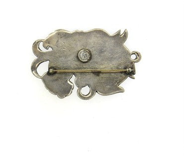 thumbnail image of 1940s William Spratling Silson Large Brooch Pin