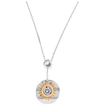 image of Chopard Happy Diamond Gold Pendant Necklace