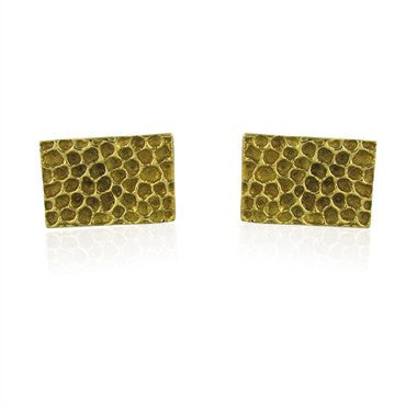 image of Vintage Tiffany & Co 14K Gold Cufflinks