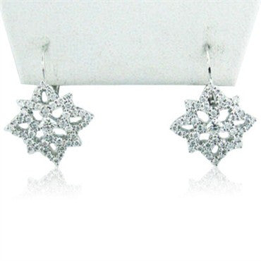 thumbnail image of Hearts On Fire Mythical Leverback Earrings