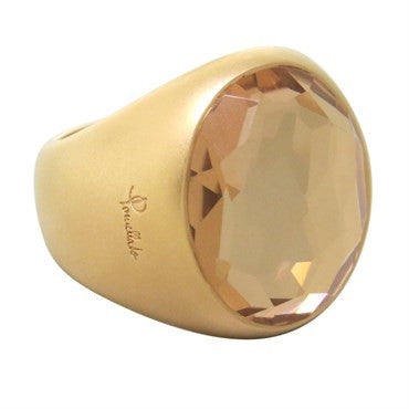 thumbnail image of New Pomellato Narciso Gold Rock Crystal Ring