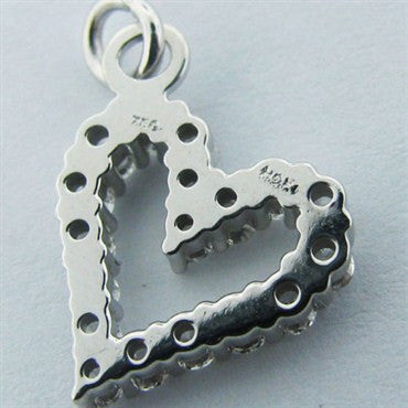 thumbnail image of New Hearts On Fire Whimsical Full House Heart Charm