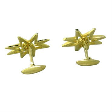 image of Tiffany & Co. Paloma Picasso 18K Gold Cufflinks