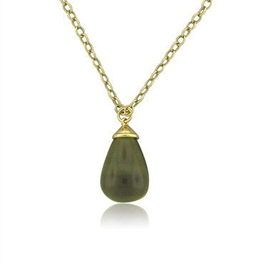 image of Tiffany & Co Paloma Picasso 18K Gold 100 Carat Pendant Necklace