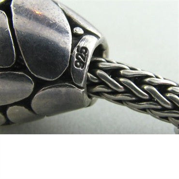 thumbnail image of Estate John Hardy Sterling Silver Slide Necklace