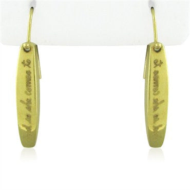 image of Jeanine Payer 18K Yellow Gold Earrings