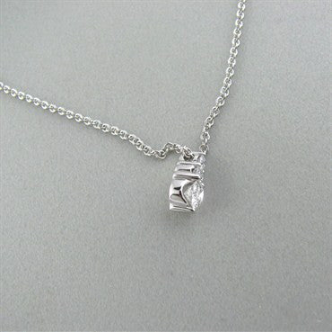 image of New Hearts On Fire Triplicity Diamond Pendant Necklace