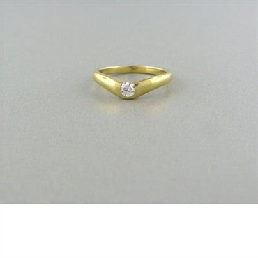 image of Tiffany & Co Elsa Peretti 18k Gold Diamond Ring