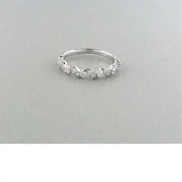 image of Hearts On Fire Intertwining Leaf Diamond Band Ring
