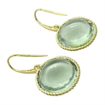 thumbnail image of Roberto Coin Ipanema Green Amethyst Earrings