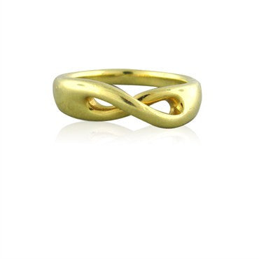 image of Estate Tiffany & Co 18K Yellow Gold Ring