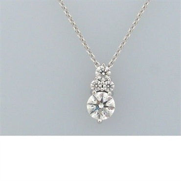 image of Hearts On Fire Triplicity 0.91ct Diamond Necklace