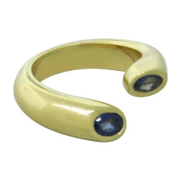 image of Cartier 18k Gold Iolite Ring