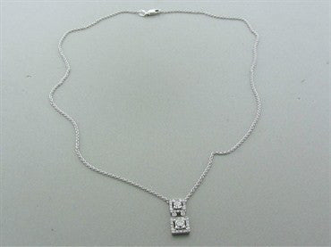 thumbnail image of Hearts On Fire Repertoire Double Dream 18K Diamond Pendant Necklace