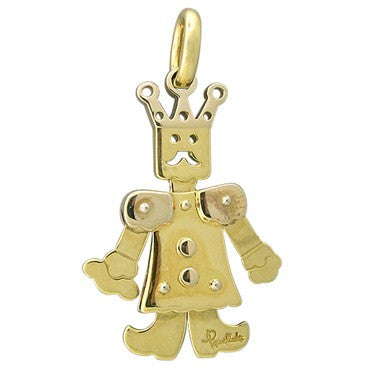 image of Pomellato Contemporary 18K Gold King Of Jewels Small Movable Pendant