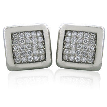 image of New Gurhan Platinum 2.00ctw Diamond Earrings