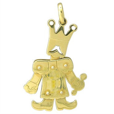 thumbnail image of Large Pomellato Contemporary 18K Gold King Of Jewels Movable Pendant