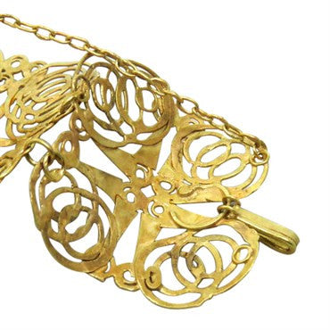 image of Judy Geib 18k Gold Wide Bracelet