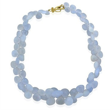 thumbnail image of Robin Rotenier 18K Yellow Chalcedony Necklace